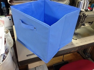 不織布で作る収納ケース